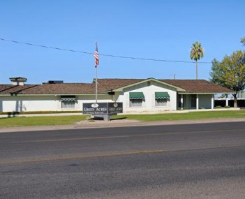 Exterior shot of Green Acres Glendale Mortuary