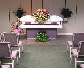 Interior shot of Heritage Funeral Homes