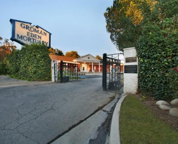 Exterior shot of Groman Eden Mortuary