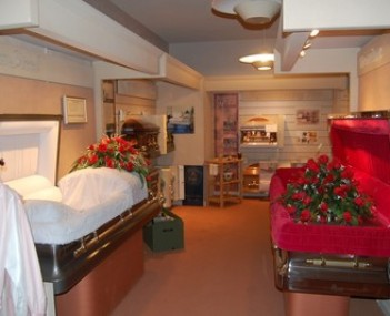 Interior shot of Callaghan Mortuary & Livermore