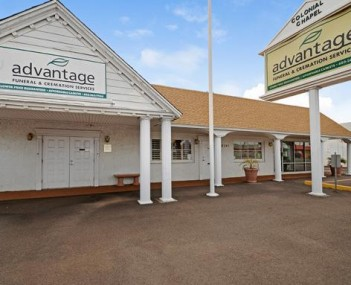 Exterior shot of Advantage Funeral & Cremation Services