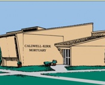 Exterior shot of Caldwell Kirk Mortuary