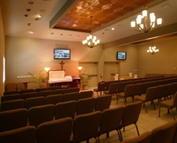 Interior shot of A Community Funeral Home & Sunset Cremations