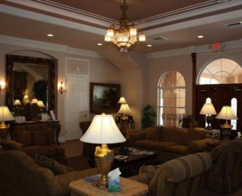 Interior shot of Oak Ridge Funeral Care