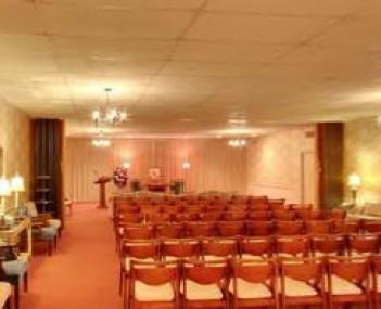 Interior shot of Charles E Davis Funeral Home