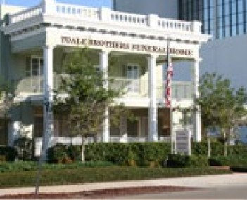 Exterior shot of Toale Brothers Funeral Home