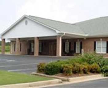 Exterior shot of Tim Stewart Funeral Home