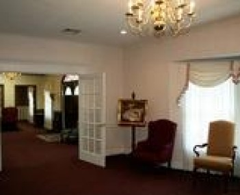 Interior shot of Bradley Anderson Funeral Home