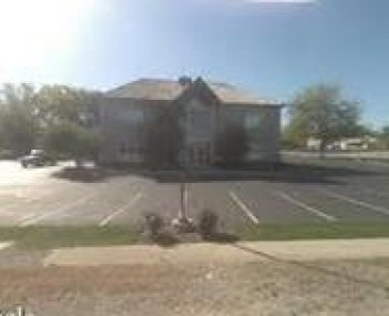 Exterior shot of the Lakes funeral home location of Symonds