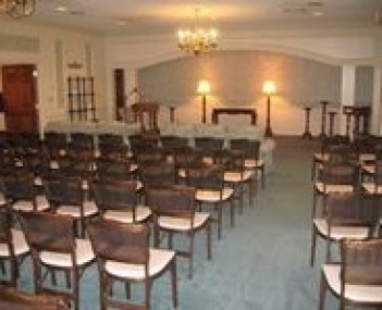 Interior shot of Irwin Chapel