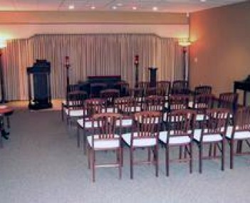 Interior shot of Dupage Cremations Limited