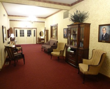 Interior shot of Hobbs-Johnson Funeral Home & Crematory