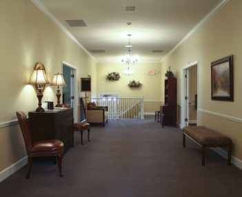 Interior shot of Feeney-Hornak Keystone Mortuary
