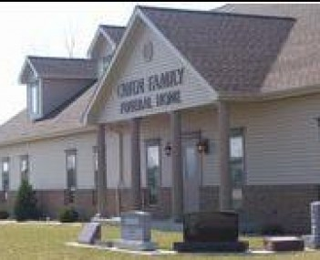 Exterior shot of Owen Family Funeral Home