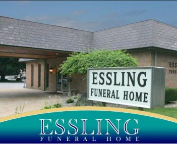 Exterior shot of Essling Funeral Home Incorporated
