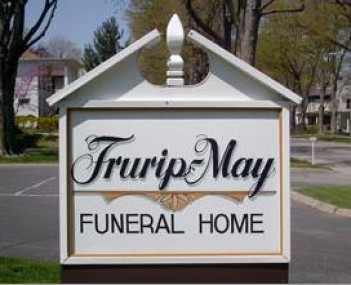 Exterior shot of Frurip-May Funeral Home