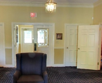 Interior shot of Hickey Funeral Homes