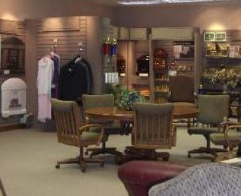 Interior shot of Bath-Naylor Funeral Home