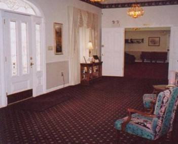 Interior shot of  Arnett & Steele Funeral Home