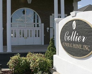 Exterior shot of Collier Funeral Home Incorporated