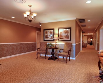 Interior shot of Lemmon Funeral Home of Dulaney Valley