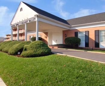 Exterior shot of Lemmon Funeral Home of Dulaney Valley