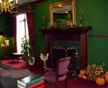 Interior shot of Resurrection Funeral Home