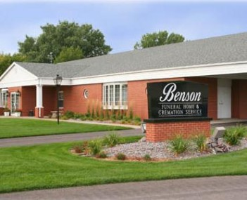 Exterior Shot of Benson Funeral Home