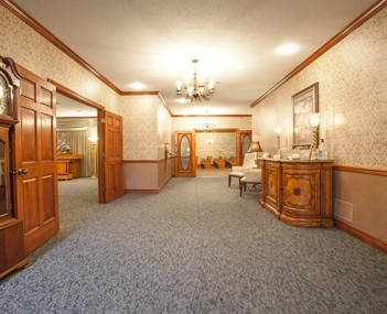 Interior shot of Dulle-Trimble Funeral Home