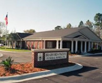 Exterior shot of Bradford O'Keefe Funeral Home
