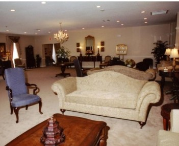 Interior shot of Bradford O'Keefe Funeral Home