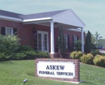 Exterior shot of Askew Funeral Services