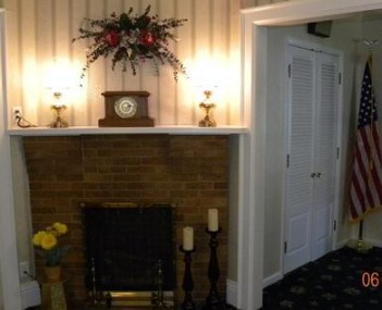 Interior shot of Donald M. Demmerley Funeral Home