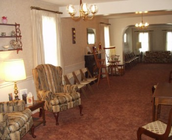 Interior shot of Ironside Funeral Home Incorporated