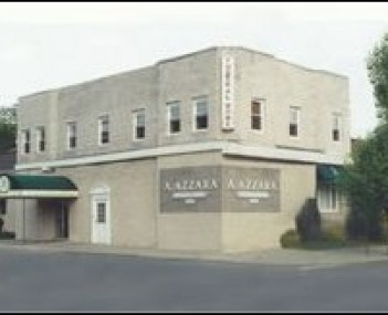 Exterior shot of A Azzara Funeral Home Incorporated