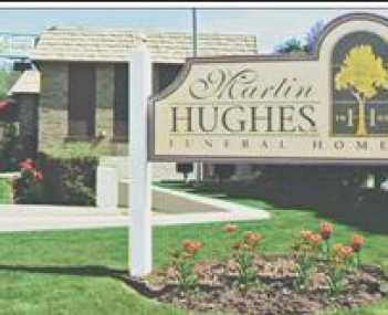 Exterior shot of Martin Hughes Funeral Home Incorporated