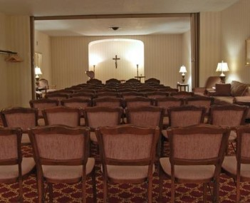 Interior shot of Edwin L Bennett Funeral Homes