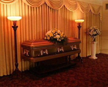 Interior shot of Ballard-Durand Funeral Home