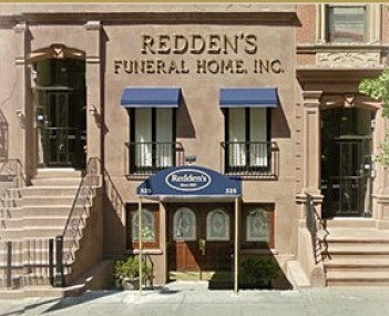 Exterior shot of Redden's Funeral Home Incorporated