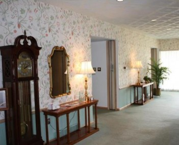 Interior shot of O. R. Woodyard Funeral Home-East Chapel