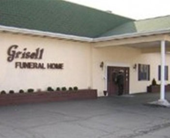 Exterior shot of Grisell Funeral Homes