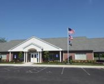 Exterior shot of Newcomer Funeral Home