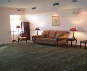 Interior shot of Green's Funeral Home & Cremation Services