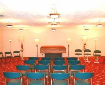 Chapel Room of Jackson Funeral Home