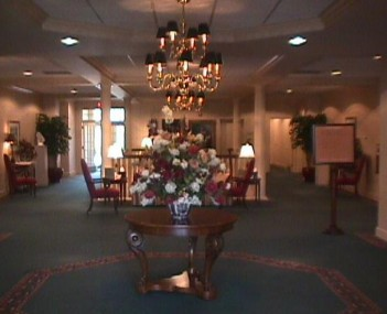 Interior shot of Ferfolia Funeral Home