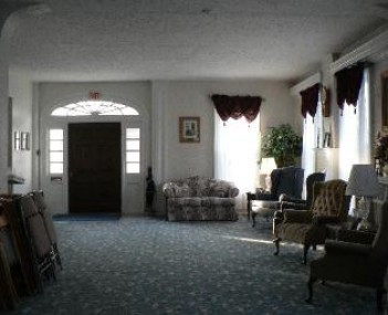Interior shot of Brough-Getts Funeral Home