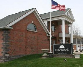 Exterior shot of Underwood Funeral Home