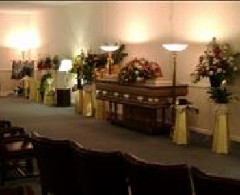 Interior shot of Cromes Funeral Home Incorporated