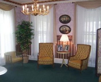 Interior shot of Leo N Hennes Funeral Home