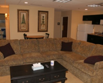 Interior shot of Huntsman Funeral Home & Cremation Services
